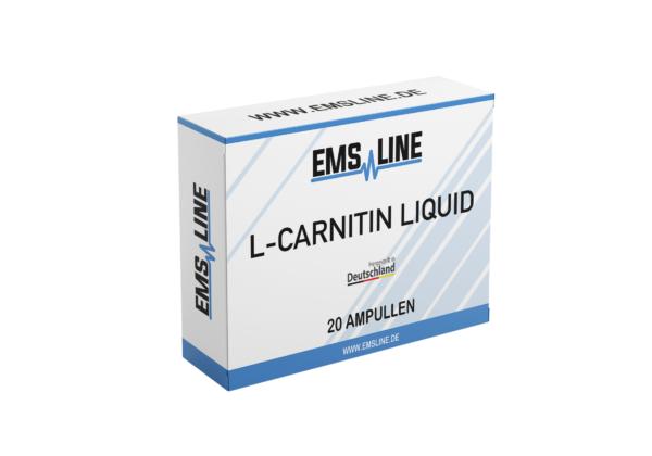 L-Carnitin abnehmen mit ems training nahrungsergänzungsmittel